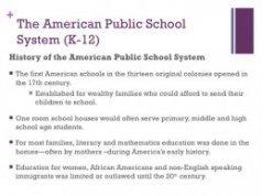 + The American Public School