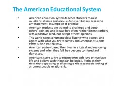 The American Educational
