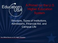 EducationUSA U S Higher