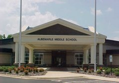 Albemarle Middle School Opens