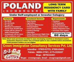 Poland Study Visa!
