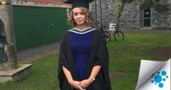 Laura Roddy on her graduation