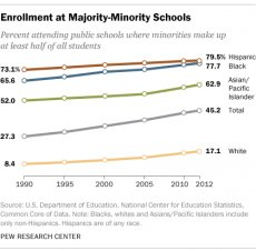 Enrollment at Majority-Minority Schools
