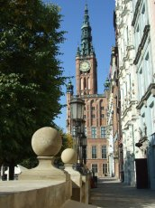 The old city of Gdansk / Danzig.