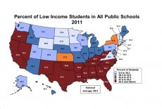 The U.S. Public School System Is Becoming The Land of The Poor