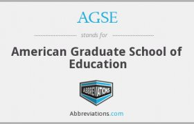 American Graduate School of Education