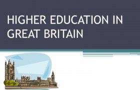 Higher Education in Britain