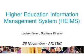 Higher Education Information Management System