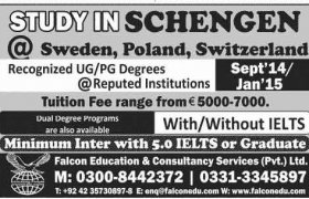 Poland universities admission