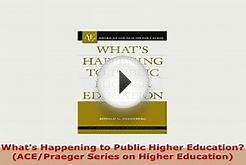 Download Whats Happening to Public Higher Education