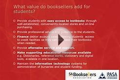 How the Higher Education textbook industry adds value