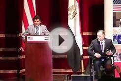 Launch of U.S.-Egypt Higher Education Initiative