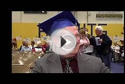Leonard Diener finally gets his high school diploma after