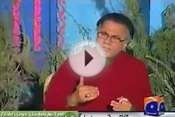 Level of education by Hassan Nisar