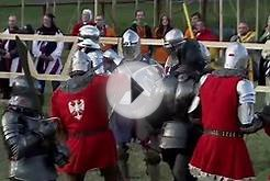 MEDIEVAL COMBAT WORLD CHAMPIONSHIPS MALBORK 2015 POLAND VS USA
