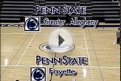 Mens College Basketball Penn State Greater Allegheny at