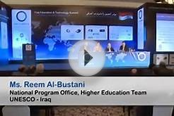 Ms. Reem Al-Bustani, National Program Office, Higher