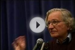 Noam Chomsky - The Political system in the USA.