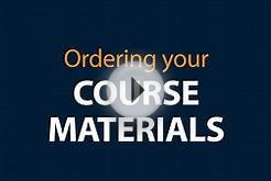 Ordering Your Course Materials — Higher Education