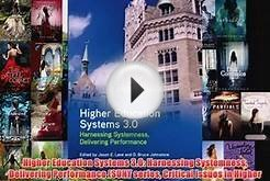 [PDF] Higher Education Systems 3.0: Harnessing Systemness