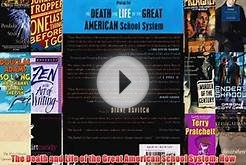 PDF The Death and Life of the Great American School System