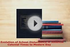 PDF The Evolution of School Disturbance in America