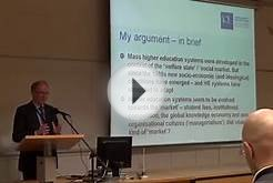 Peter Scott: Mass to Market Higher Education Systems: New