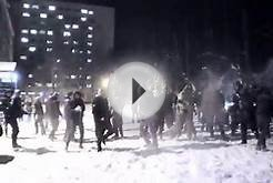 SnowBall FIGHT Gdańsk Poland University 2016 FulHD