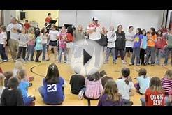 Trojan Elementary Principal Jeff White sings Party In The USA