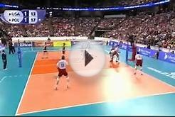 USA vs Poland - VollyBall Match @ 13-06-2015