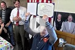 WWII vet receives high school diploma after 72 years